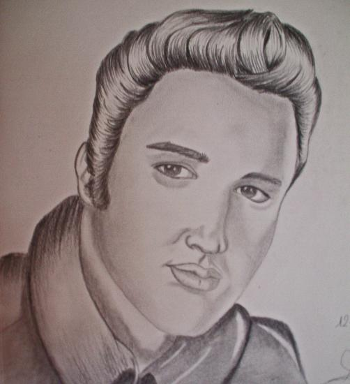 Elvis Presley by audrey